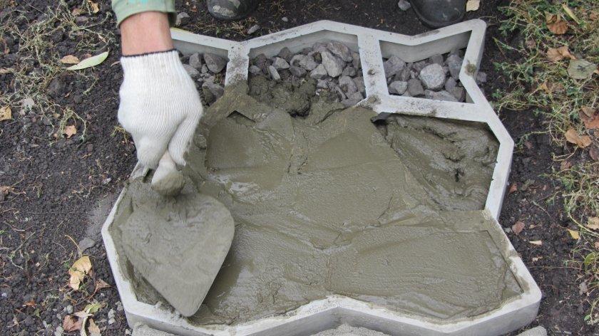 самодельные формы для бетона