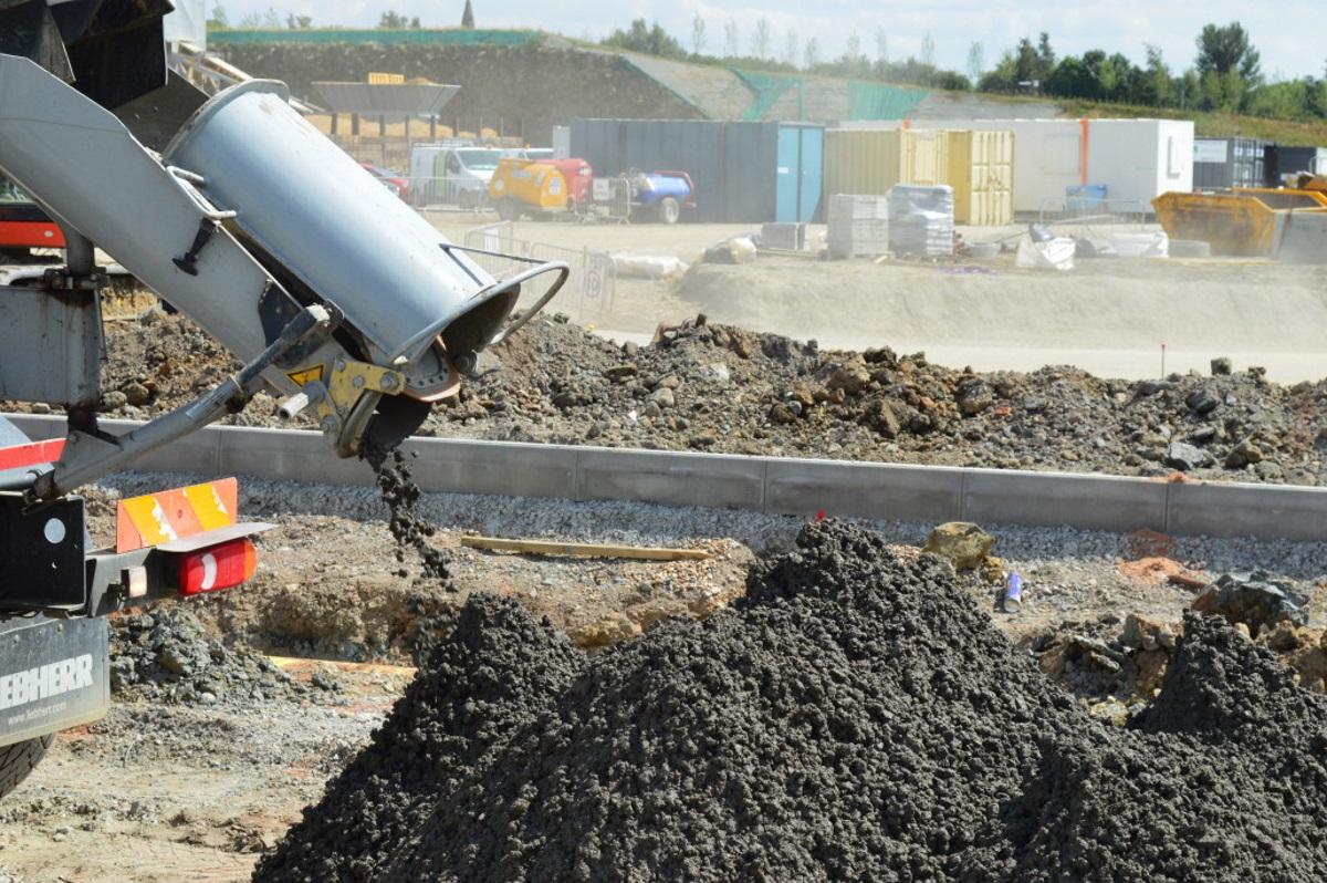 Укладка тощего бетона почему трескается бетон