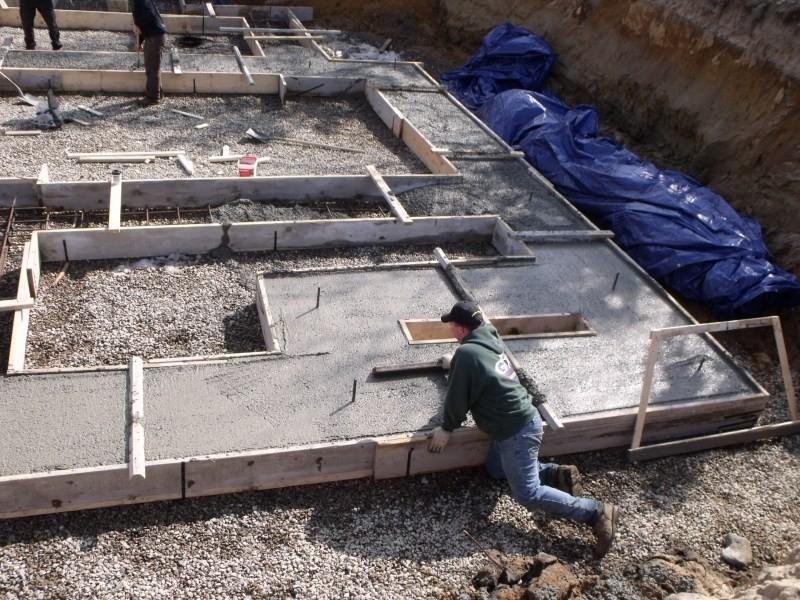 какой марки бетон заливать на фундамент