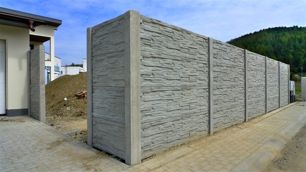 забор из железобетонных плит