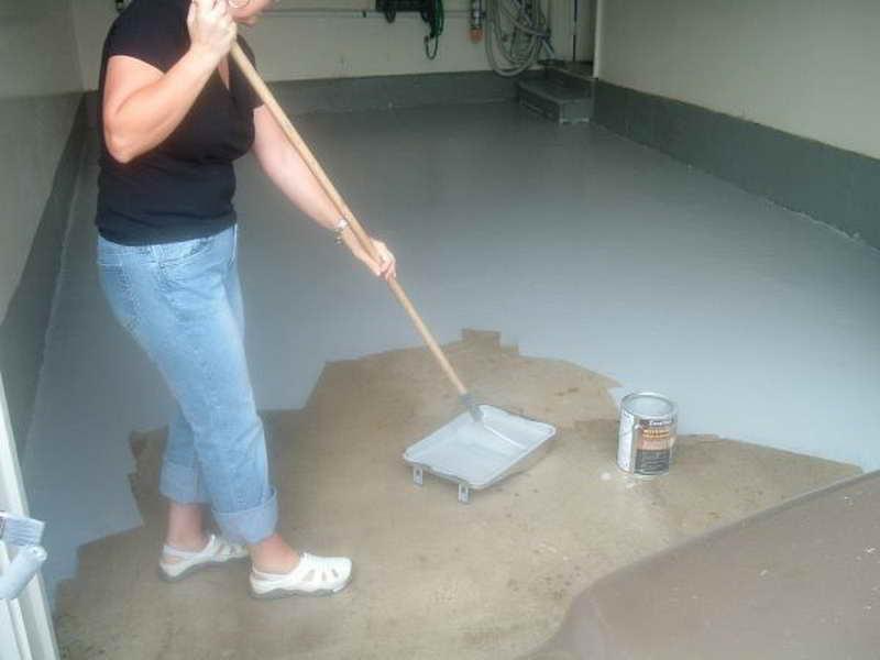 купить краску для бетонного пола в гараже