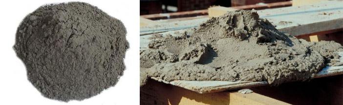 расширяющаяся бетонная смесь