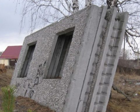 Все о наружных панелях на керамзитобетоне вентканал бетон