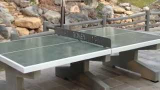 Concrete table tennis!