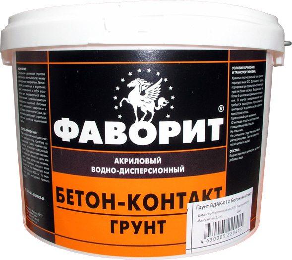 грунтовка с антисептиком для бетона