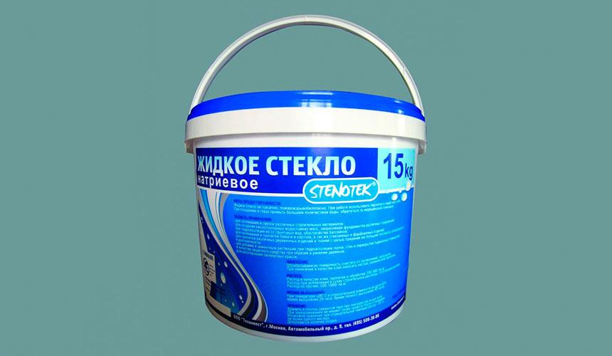 жидкое стекло добавка в бетон
