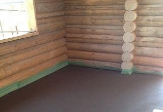 Цементная стяжка по деревянному перекрытию