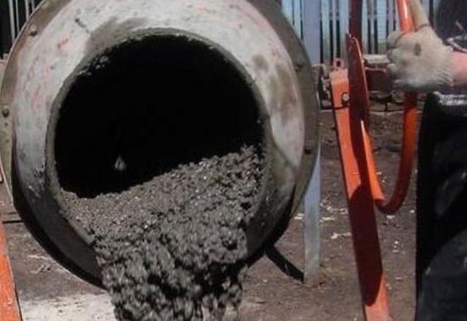 как сделать бетон в бетономешалке